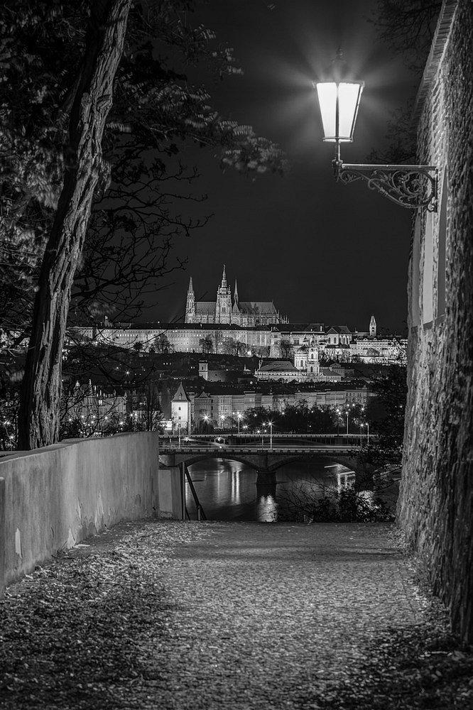 Noční Praha, Vyšehrad, Pražský hrad - IMG-6356.jpg